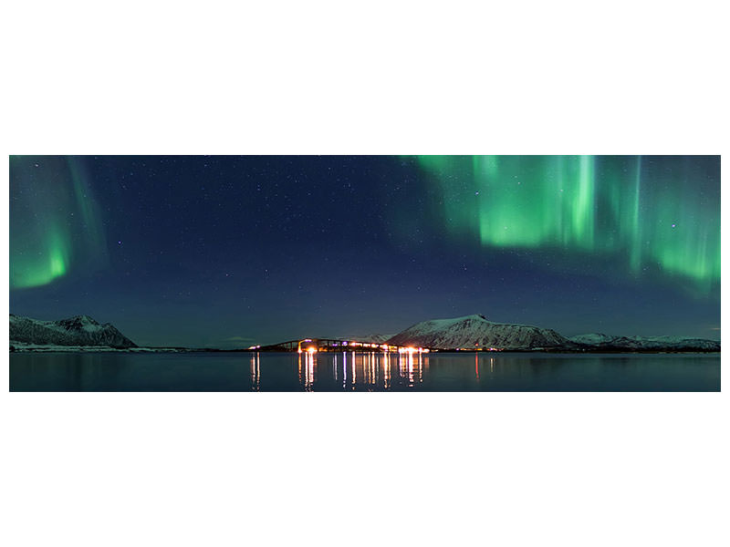 Panoramic Canvas Print Magical Night