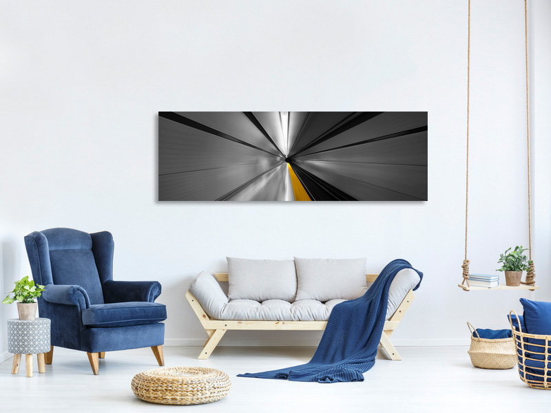 Panoramic Canvas Print The Power Of Speed