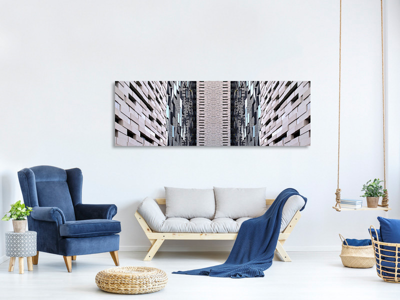 Panoramic Canvas Print Jenga