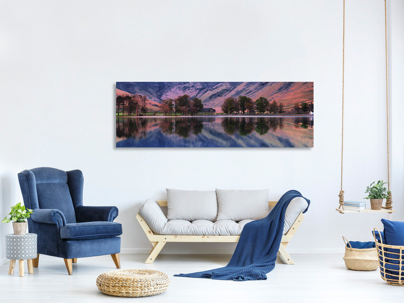 Tableau sur Toile Panoramique Morning Dream