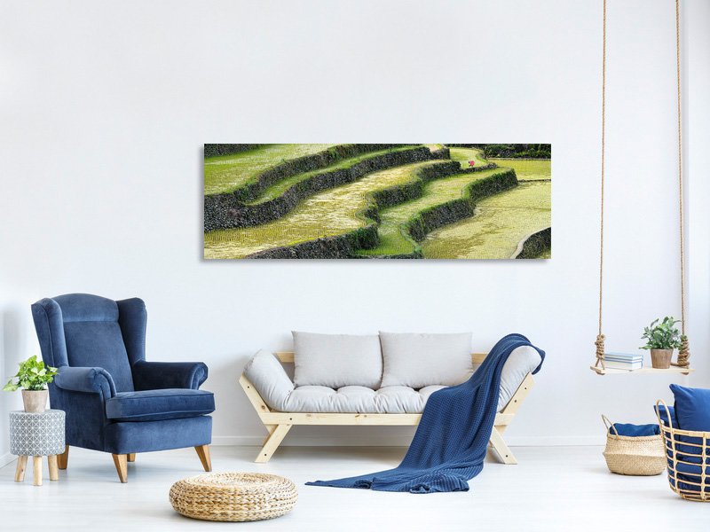 Panoramic Canvas Print Endless Work