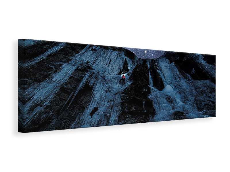 Panoramic Canvas Print Star Climber