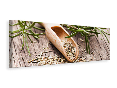 Panoramic Canvas Print Rosemary