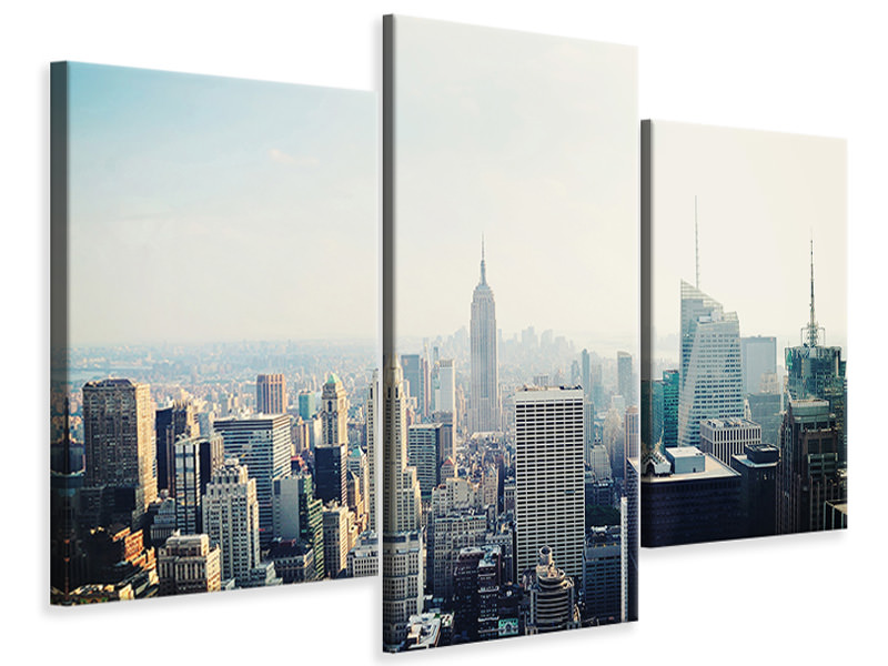 Modern 3 Piece Canvas Print NYC