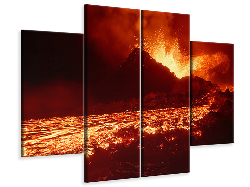 4 Piece Canvas Print From The Hell II