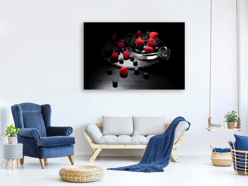 Canvas print The variety of berries