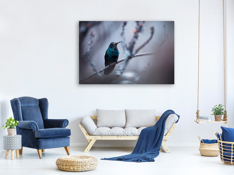 Canvas print Electrical Blue