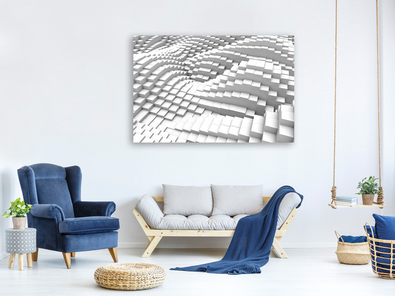Canvas print 3D Elements