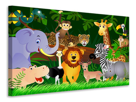 Canvas print Jungle King