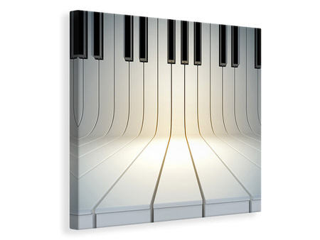 Canvas print Piano Keys