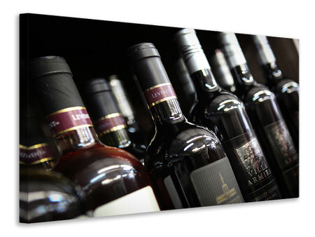 Canvas print Bottled Wines