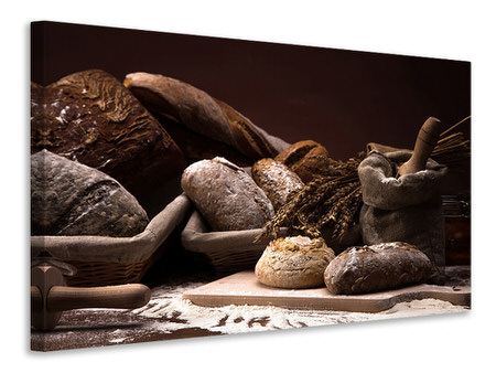 Canvas print Bread Bakery