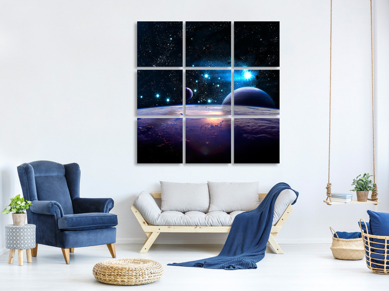 9 Piece Canvas Print The All